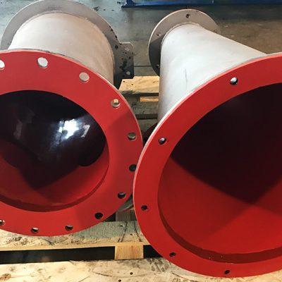 arca rubber - rivestimenti - rivestimenti antiusura per idrocicloni