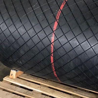 arca rubber - rivestimenti - rivestimento tamburi con gomma base nr sbr