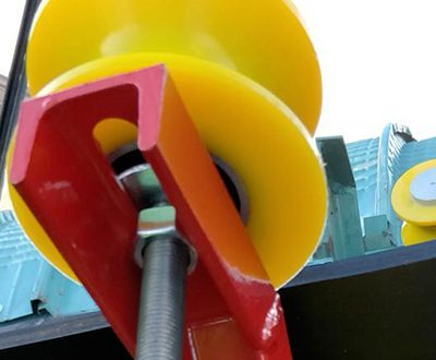 arca rubber - rulli - guida nastro