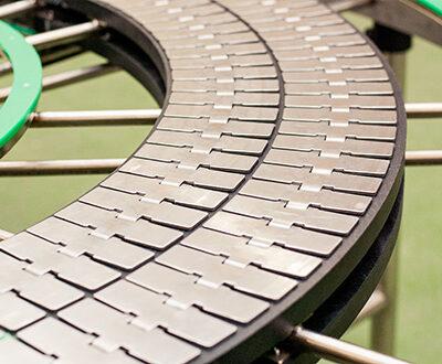 arca belts - nastri modulari - catene tabletop rettilinee e curvilinee