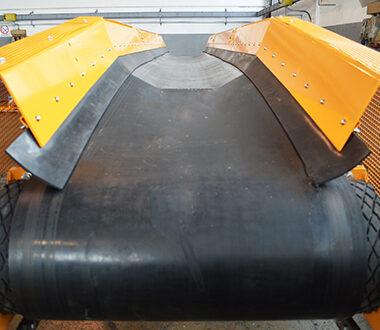 arca mechanical - trasportatori a nastro - trasportatori nastro concavo