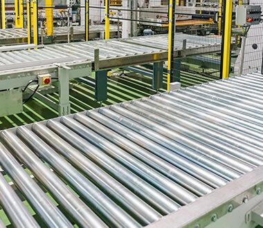 arca mechanical - trasportatori a rullo - trasportatori a rulli a spinta
